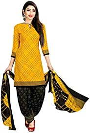 Real Fashion Ready Dress Four Different Colored Leone Fabric Stylish Punjabi Salwar Suit