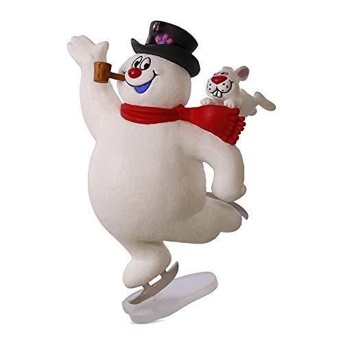 Hallmark Keepsake 2017 FROSTY THE SNOWMAN Look At Frosty Go! Christmas Ornament - Jolly Snowman Ornament