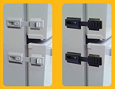 The Guardian Refrigerator Lock for any Home Appliance, used for Infants, Special Needs Children and Dementia Patients