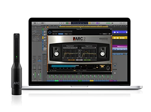 Professional Audio Mixing Software - IK Multimedia ARC System 2.5 advanced digital room correction system for Mac/PC with included MEMS measurement microphone