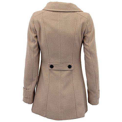 Fashion Classic Boutonnage Veste Hiver Manteau Pierre Pour Wol650 6qA5gg