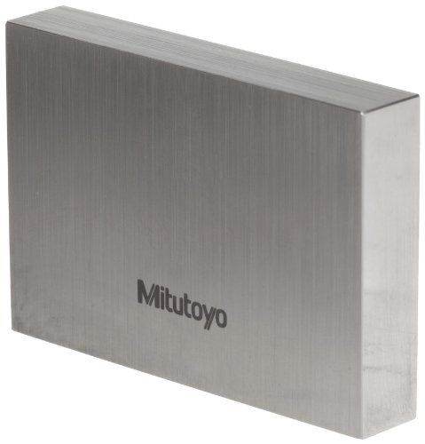 Mitutoyo Steel Rectangular Gage Block, ASME Grade 0, 4.0'' Length by Mitutoyo