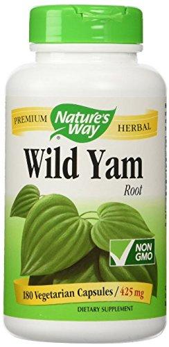 NATURE'S WAY, Wild Yam – 180 vegicaps