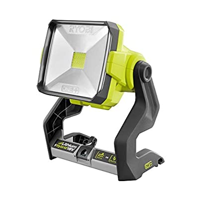 Ryobi P720 18V ONE+ Dual Power 20-Watt LED Work Light (Tool-Only)