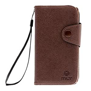 Cross Grain PU Leather Full Body Case with Card Slot and Matte Back Cover for SONY L35H/Xperia ZL(Assorted Colors) --- COLOR:Rose