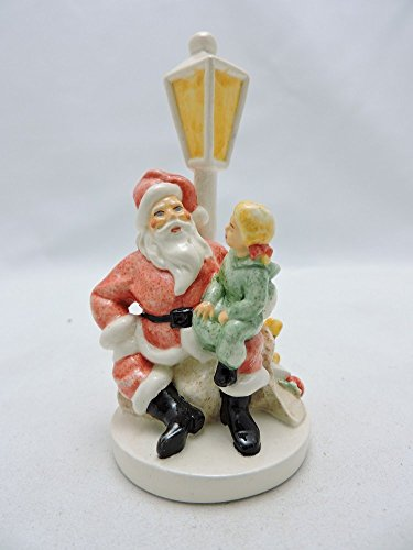 Sebastian Miniatures Figurine # 6222 Santa Claus w/ Child