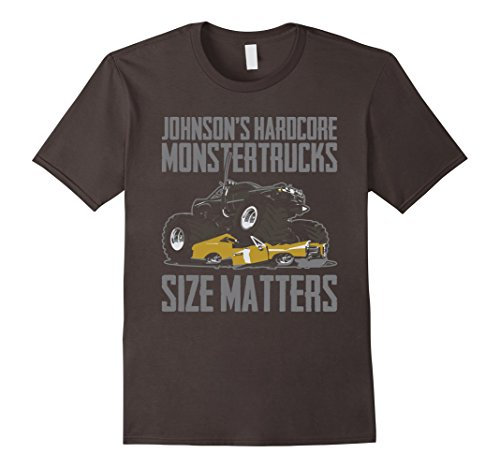 Men's Johnson's Hardcore Monster Trucks Size Matters T-sh...