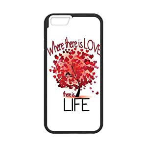 iPhone 6 Protective Case - Love Tree Hardshell Cell Phone Cover Case for New iPhone 6 by mcsharks