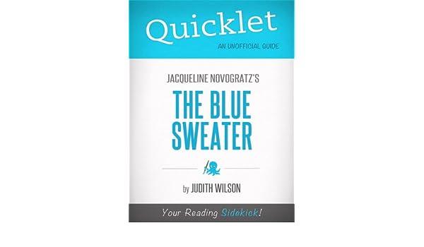 Amazon.com: Quicklet on Jacqueline Novogratz's The Blue Sweater ...