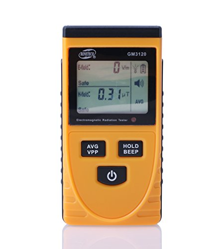 C-Zone Digital LCD Electromagnetic Radiation Detector Meter Dosimeter Tester Counter-Yellow