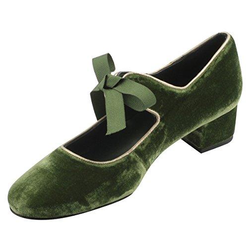 Vestir Verde Paris para Zapatos Mujer Exclusif de qpRAawOWZ