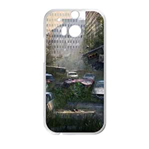 Cute TPU The Last Of Us HTC One M8 Cell Phone Case White