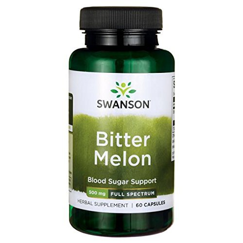 (Swanson Premium Full-Spectrum Bitter Melon 500mg -- 2 Bottles each of 60 Capsules by Swanson Premium)