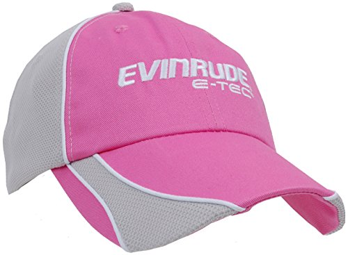 BRP Evinrude Outboard Motors E-Tec Women's Pink & Grey Hat