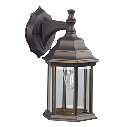 Bronze Rubbed Oil Light Lantern Fixture Outdoor Lantern Wall Light Fixture Sconce Lighting (Inset Double Sink)