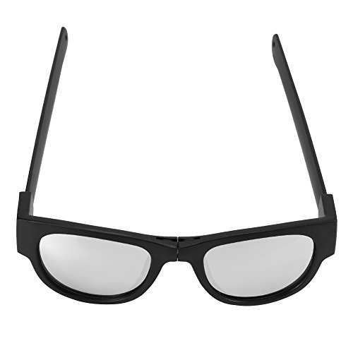Plegables Sol Libre Gafas Plegables Gafas Unisex Plata 2 4 Tipos Sol para Gafas de Aire Ciclismo al de Conducción wqvEH4E