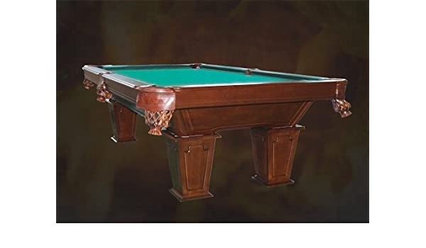 8 pies mesa de billar Pooltunierbillardtisch con madera maciza tunierbillard 3 cm Fuerte de pizarra: Amazon.es: Deportes y aire libre
