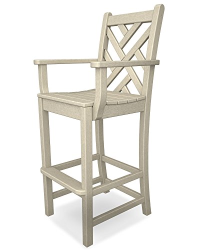 Chippendale Bar Arm Chair Finish: Sand (Bar Chippendale)