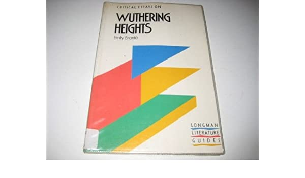 amazon com wuthering heights emily bronte critical essays  amazon com wuthering heights emily bronte critical essays 9780582006546 linda cookson bryan loughrey books