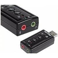 Placa De Som Usb Com Adaptador Usb Entrada P2 Para Fone De Ouvido E Microfone 7.1 - CompleteStore®