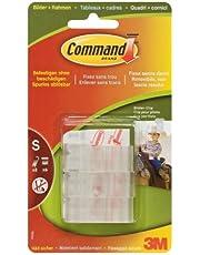 Command 17505 kunststof fotoclip, verwijderbaar, 6 stuks met 8 strepen
