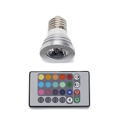 LanLan Color Changing Light Bulb With Remote control