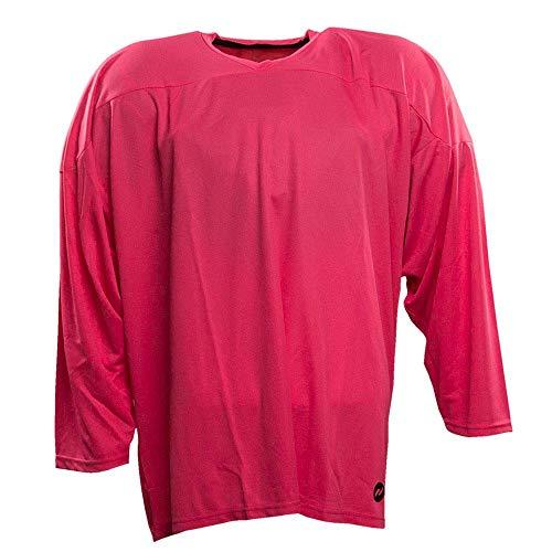 Pink Hockey Jersey - Pure Hockey Pure Hockey One Tone Practice Jersey [SENIOR]