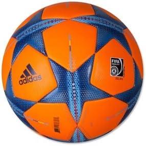amazon com adidas finale 15 uefa champions league hi vis winter official match ball 2015 2016 solar orange sports outdoors adidas finale 15 uefa champions league