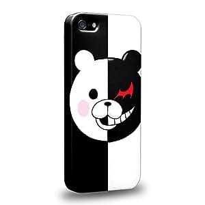 Case88 Premium Designs Danganronpa Monokuma Protective Snap-on Hard Back Case Cover for Apple iPhone 5 5s