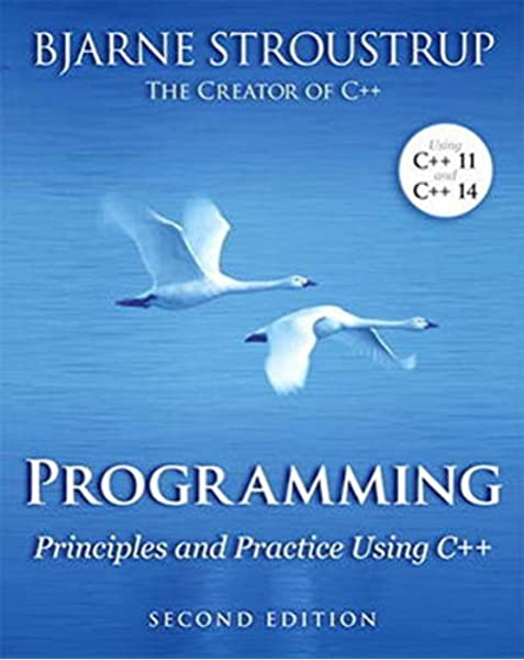 Amazon Com Programming Principles And Practice Using C 2nd Edition 0884926202607 Stroustrup Bjarne Books