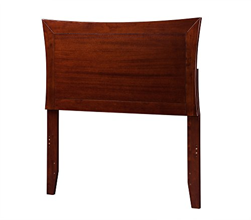 Atlantic Furniture Metro Headboard, Twin, Antique Walnut by Atlantic Furniture