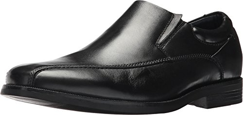 (Dockers Men's Franchise 2.0 Bike Toe Loafer Black Polished Full Grain 13 EE)