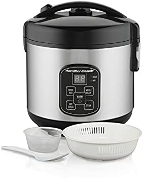 Hamilton Beach 8-Cup Programmable Rice Cooker and Steamer