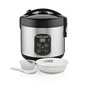 Amazon.com: Hamilton Beach (37518) Rice Cooker, 4 Cups