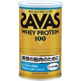 SAVAS ザバス ホエイプロテイン100 ヨーグルト風味 18食分