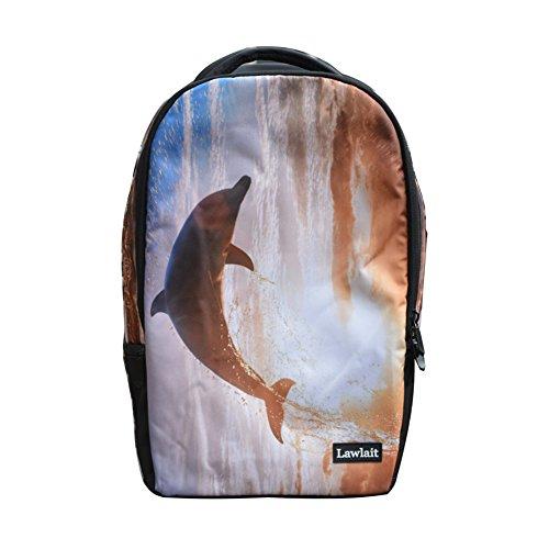 Teenagers Book Bag School Zrong Rucksack Backpack Leisure Bag Laptop Casual J Daypacks Parrot Unisex Nylon 7qO7zB