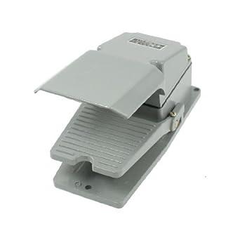 eDealMax AC 380V 15 Amp momentáneo CNC sola acción del interruptor de Pie del Pedal Con