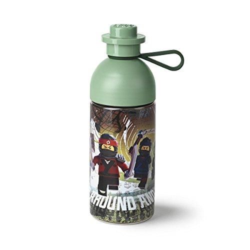 LEGO 40421741 Water Ninjago Movie Hydration Bottle, Olive Green