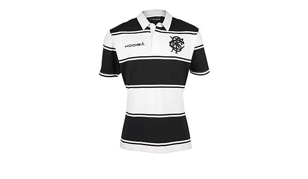 Barbarians 2016/17 Clásico S/S Camiseta De Rugby - Negro, X-Large ...