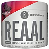 REAAL - REAAL Brazilian Berry Powder, Helps Build, Restore, and Maintain Lean Muscle with Essential Amino Acids, Gluten Free, Bloat Free, Lactose Free, Caffeine Free, Vegan, 30 Servings (6.77 Oz)