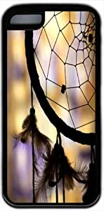 Native Dream Catcher Iphone 5C Case - TPU Black