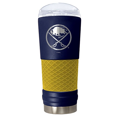 Great American Products Buffalo Sabres 24oz Insulated Powder Coated Laser Etched (Buffalo Sabres Travel Mug)