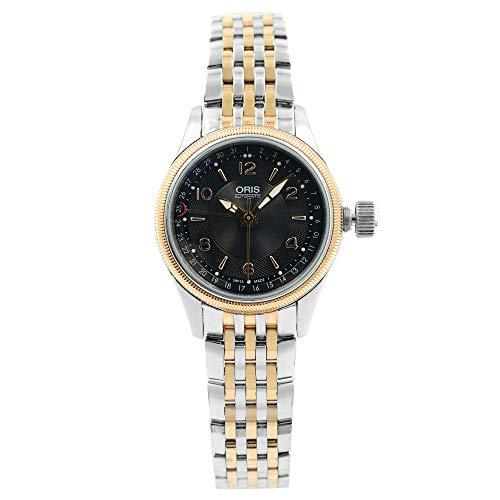 Oris Big Crown Black Dial Stainless Steel Ladies Watch 59476804334MB Big Crown Pointer Date Watch