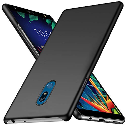 LG K40 Case, TopACE Extremely Light Ultra Thin Super Slim Hard PC Case Compatible for LG K40 / LG X4 (Black)
