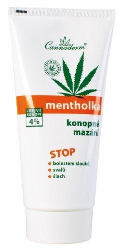 Can-cosmetics/cannaderm - Cannaderm mentolka konopné mazání 200 ml K0251