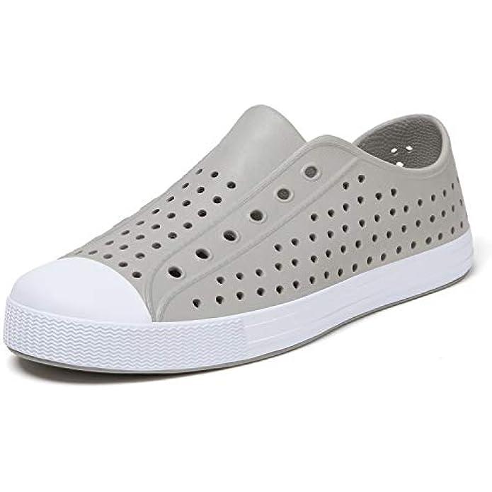 SAGUARO Men Women Garden Shoes Slip On Beach Sneaker Breathable Lightweight Water Shoes