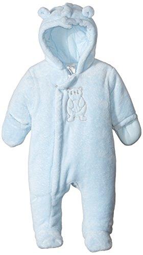 absorba Baby Boys Newborn Fuzzy Snowsuit