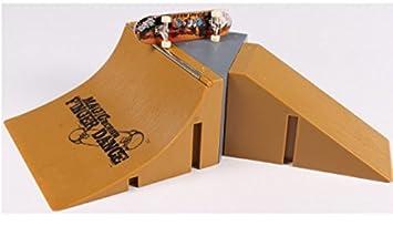 LyGuy Skate Park Kit Rampenteilset für Tech Deck Finger Board Mini Finger Skateboard