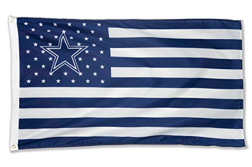 - WHGJ NFL Dallas Cowboys 3X5 FT USA Flag Sports Banner Indoor and Outdoor