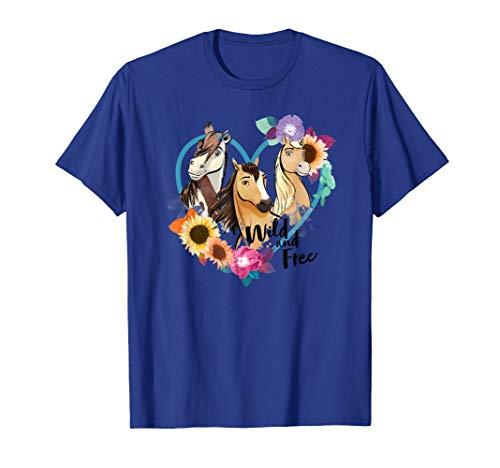 DreamWorks Spirit Riding Free Wild and Free T-Shirt (Spirit Free Tshirt)